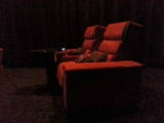 iPic Theater: The recliner seats
