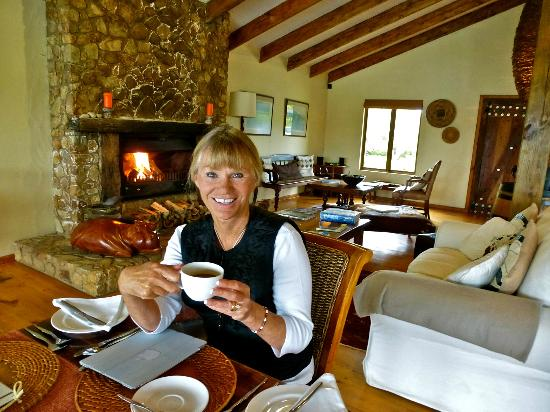 Elephant Hide of Knysna Guest Lodge: A delicious breakfast every morning