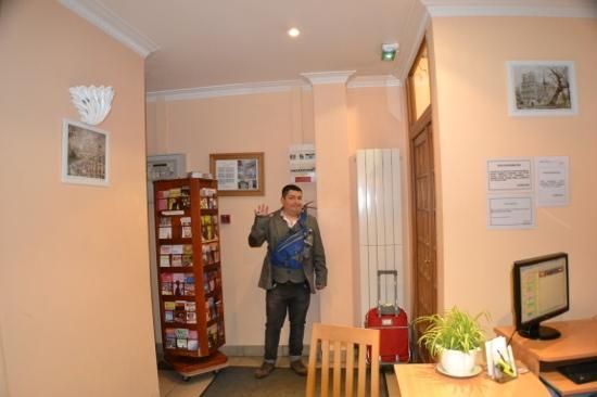 Hotel Audran: recepcion
