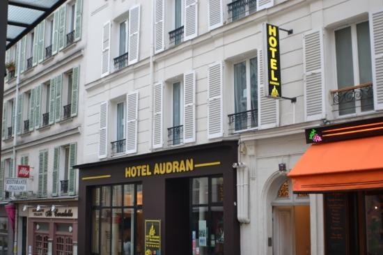 Hotel Audran: fachada del hotel