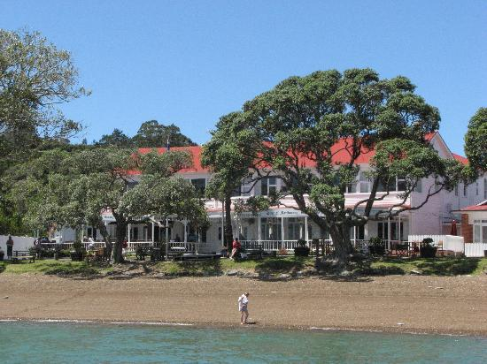 Duke of Marlborough Hotel: The hotel from the pier