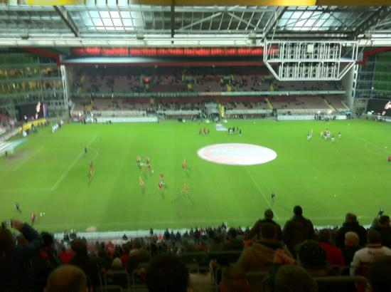 Fritz Walter Stadion: View from our seats
