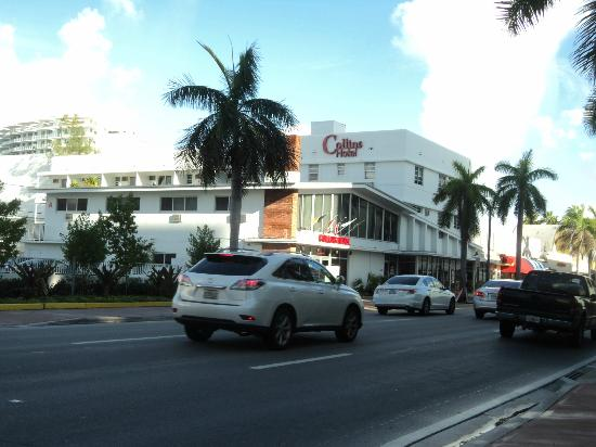 Collins Hotel: VISTA DEL HOTEL POR LA AVENIDA COLLINS