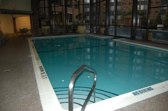 Sheraton Harrisburg-Hershey: Indoor pool that goes to outdoor pool very cool