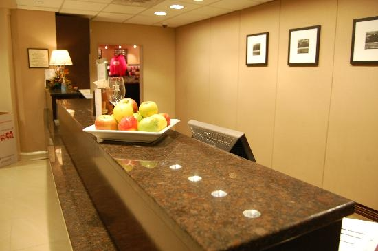 Sheraton Harrisburg-Hershey: The check in area