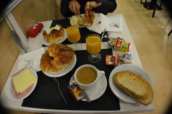 Hotel Boutique Maza: variedad del bufet