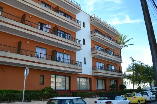 HSM Venus Playa: Hotel von der Seite