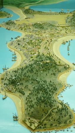 Maritime Museum: 3D - Macau Peninsula Map