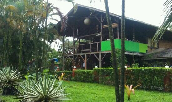 Hotel Rustico de Playa Perla Negra: perla negra, vue de l'hôtel