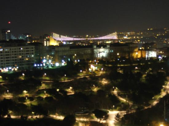 Hilton İstanbul Bosphorus: View from Room