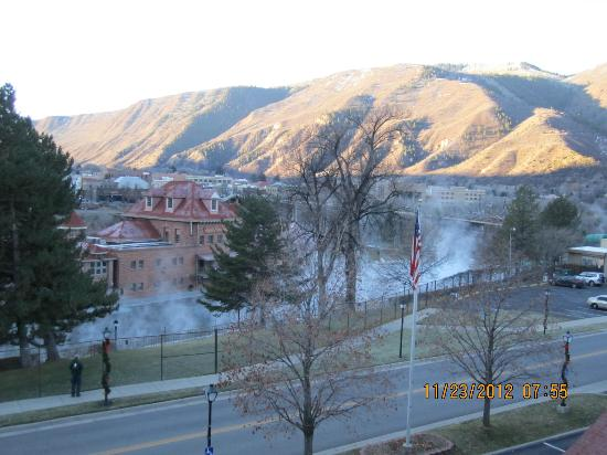 Glenwood Hot Springs Resort: looking across from room