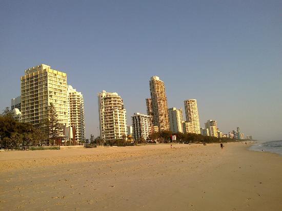 BreakFree Beachpoint: beach