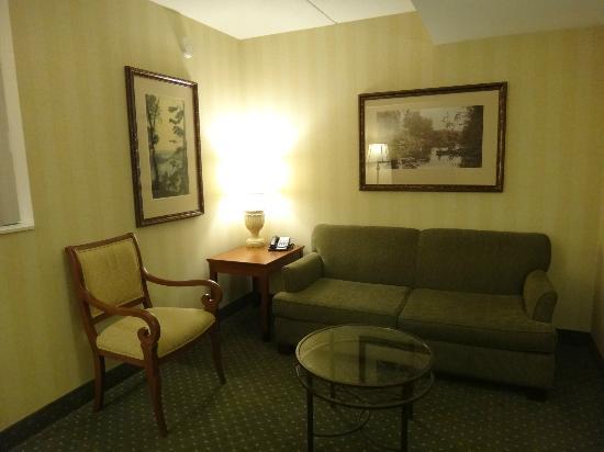 DoubleTree Fallsview Resort & Spa by Hilton - Niagara Falls: Living room