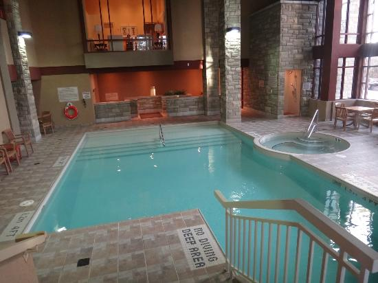 ‪‪DoubleTree Fallsview Resort & Spa by Hilton - Niagara Falls‬: Indoor pool‬