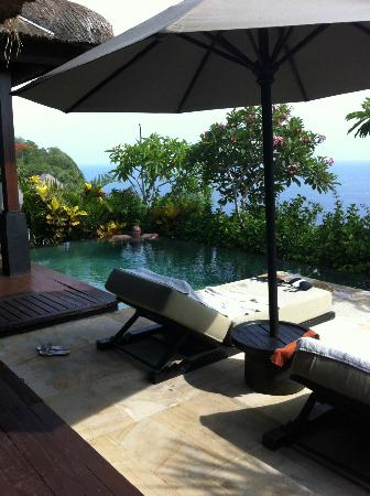Bulgari Resort Bali: enjoying