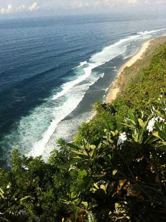 Bulgari Resort Bali: Private beach view