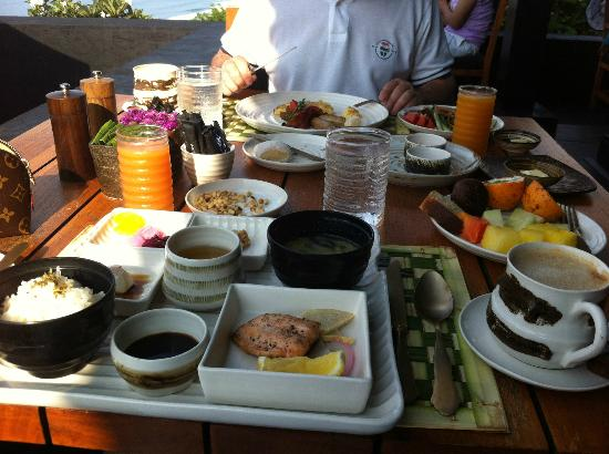 Bulgari Resort Bali: wow, breakfast