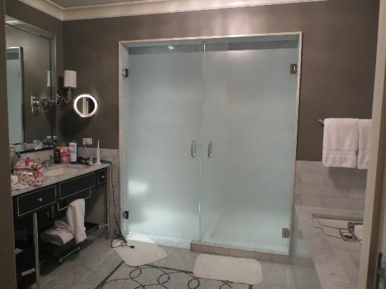 Waldorf Astoria Chicago: Huge spalike bathroom