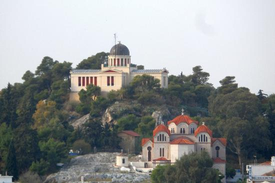 Plaka Hotel: View from the Roof Deck of the hotel
