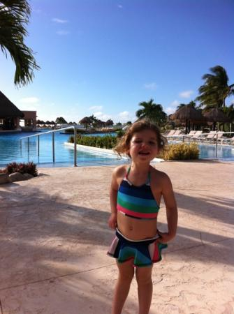 Moon Palace Cancun: eight in the morning and blissful sunshine!