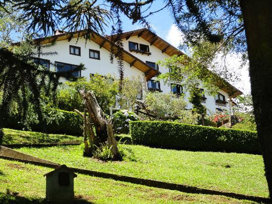 Hotel Meissner-Hof: Vista próximo à piscina.