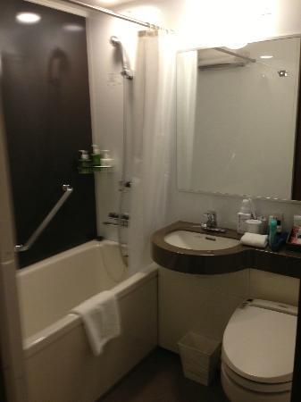 Hotel Ryumeikan Tokyo: Bathroom