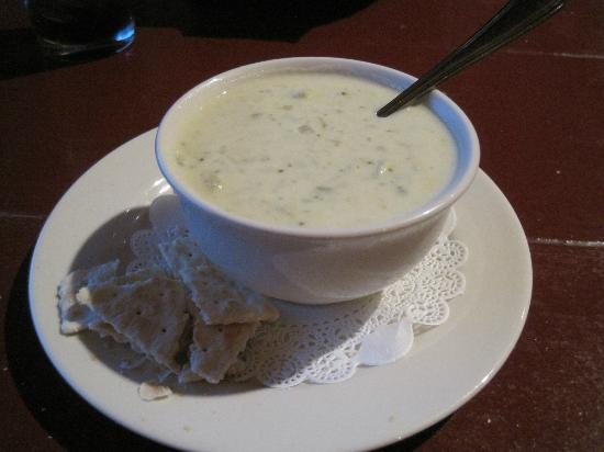 The Orchard: Cream of Brocoli soup