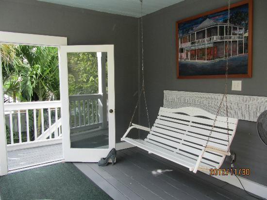 Ambrosia Key West Tropical Lodging: Tree Top room terrace
