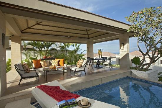 Mulia Villas : Two Bedroom Villa - Pavilion