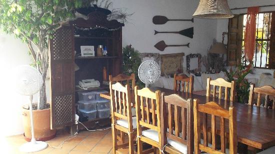 Posada La Movida: La sala da pranzo della Posada Modiva