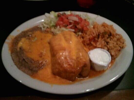 Elsa's Mexican Restaurant: Chimichanga