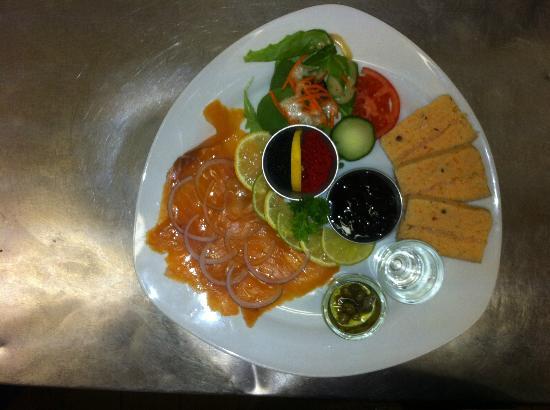 Le Gavroche: assiette scandinave
