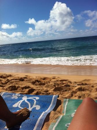 Sheraton Kauai Resort: Sheraton beach :)