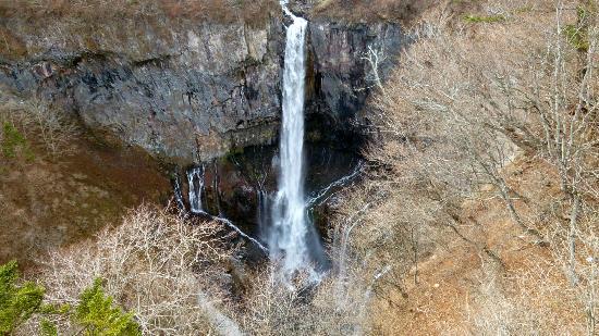 華厳の滝, 観瀑台より