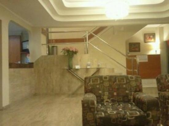 Hotel Centroamericano: La recepción