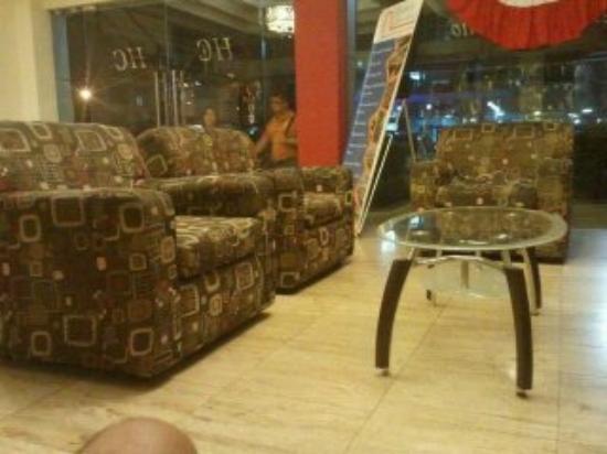 Centroamericano Hotel: Otra de la rececpción