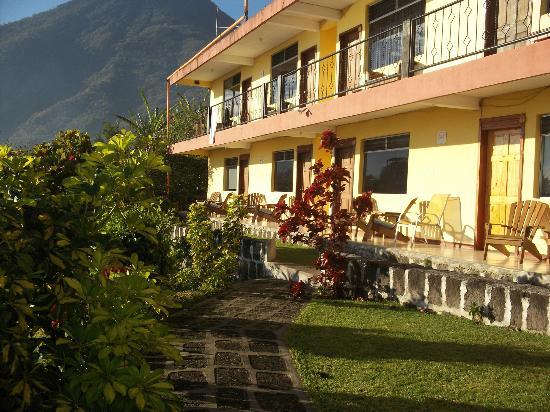 Hotel Sakcari: La vista del resto de las habitaciones