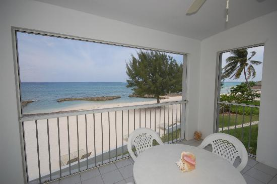 The Grandview Condos Cayman Islands: View from the porch