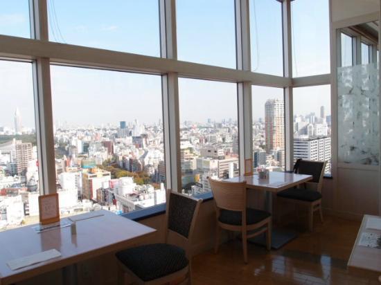 Shibuya Excel Hotel Tokyu: レストランからの眺め