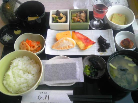 Shibuya Excel Hotel Tokyu: 朝食1日目