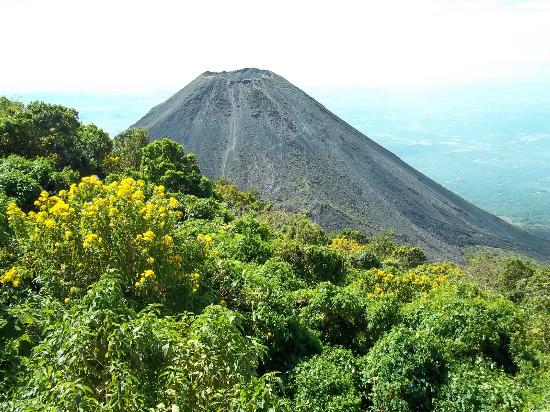 Santa Ana, El Salvador: View of the Izalco Volcano
