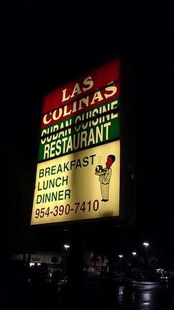 Las Colinas Restaurant: Las Colinas Street Sign