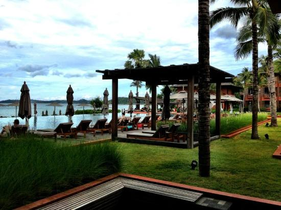 Hansar Samui Resort: View from the lobby