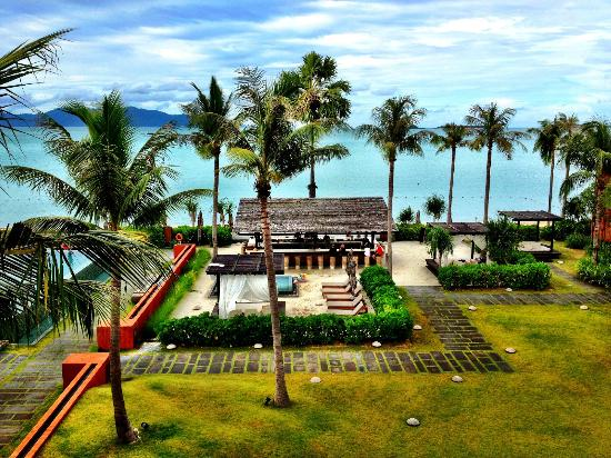 Hansar Samui Resort: View from our amazing room