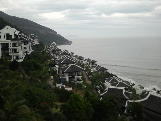 InterContinental Danang Sun Peninsula Resort: View from balcony