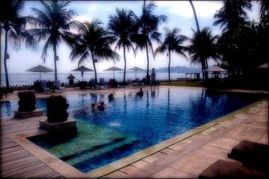 Rama Candidasa Resort & Spa : The pool