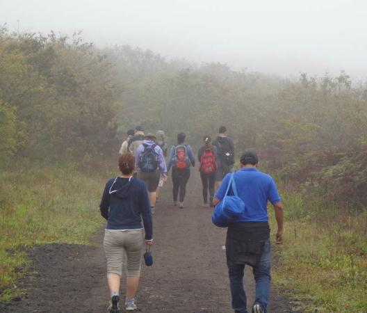Sierra Negra: Hike up in the clouds