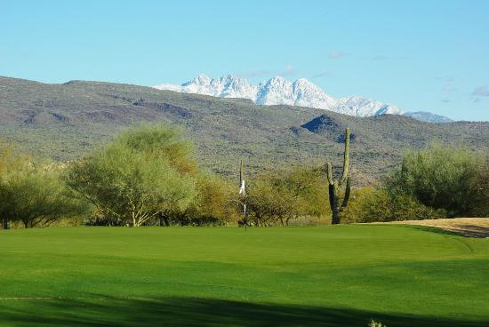 Tonto Verde Golf Club: Views from the fairway