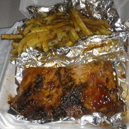 Backwoods BBQ: Rib dinner yummy yummy