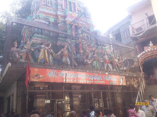 Rishikesh, Indien: Lord Shiva Te Neelkanth Mandir